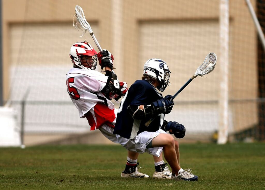 lacrosse player injury